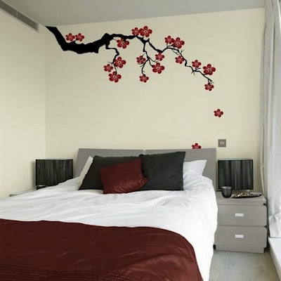 50 Simple Creative Bedroom Wall Designs