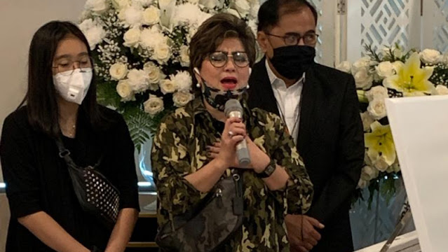 Upacara Pemakaman Ibunda Berjalan Lancar, Ini Ungkapan Hati Senator Maya Rumantir