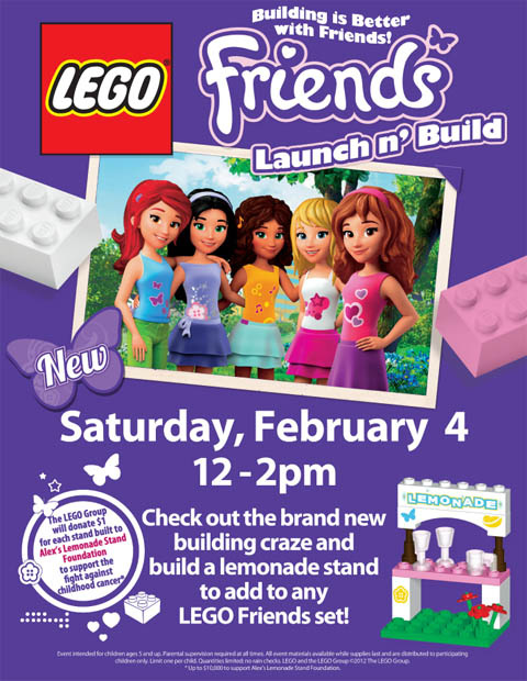 Lego Friends Inspire Girls Globally Friends Events