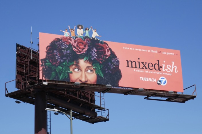 Mixed-ish series premiere billboard