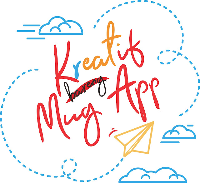 Kreatif bareng Mug-App! Pemesanan bisa satuan loh
