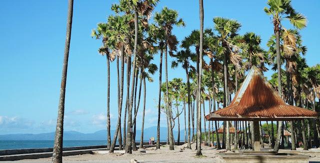 Pantai Lasiana ialah salah satu objek wisata yang berada di Kota Kupang selain Pantai Ta Pantai Lasiana Kupang