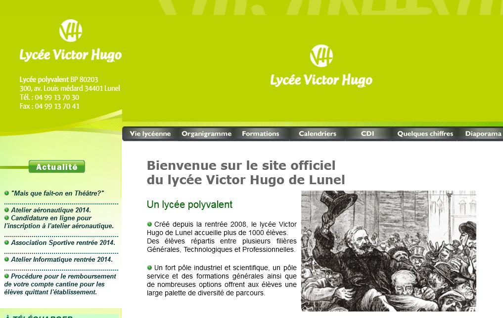 Victor Hugo lunel