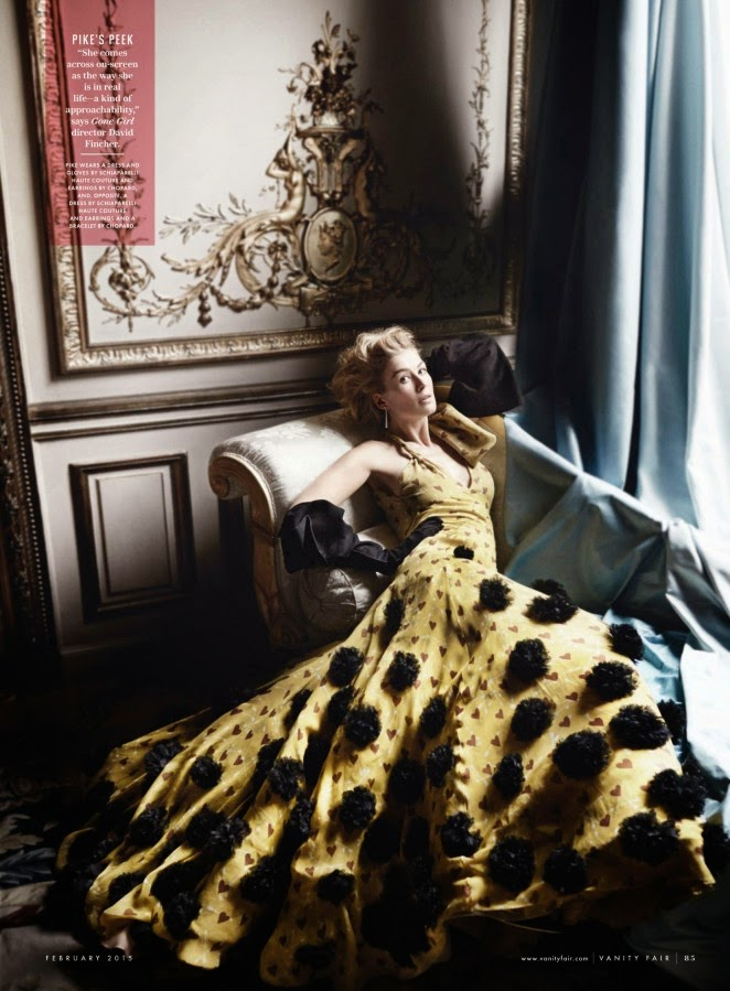 Rosamund Pike: Vanity Fair 2015