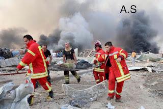 مقتل 10 على الأقل وإصابة المئات في انفجار ضخم في بيروت