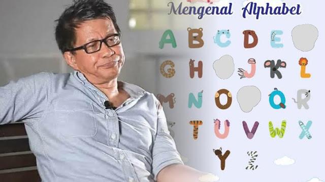 Sindir Maklumat Larang Konten FPI, Rocky: Nanti Huruf F, P dan I Hilang dari Alfabet Indonesia