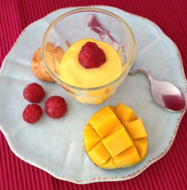 sweet kwisine, mangue, framboise, crème, dessert, sablés coco, cuisine antillaise, martinique, guadeloupe