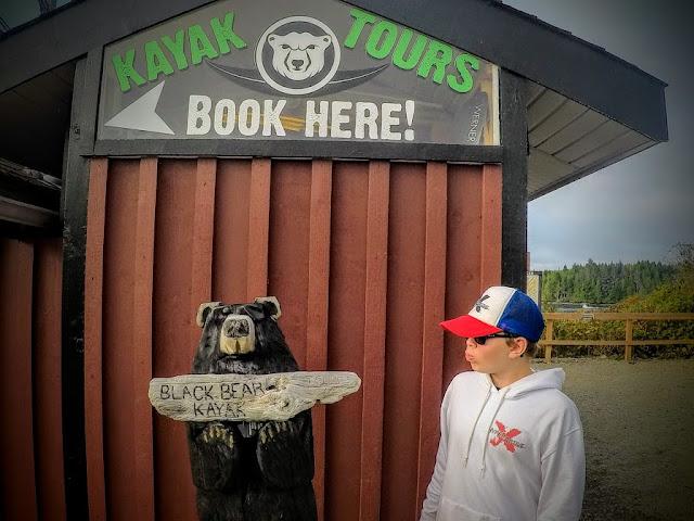 Black bear kayak