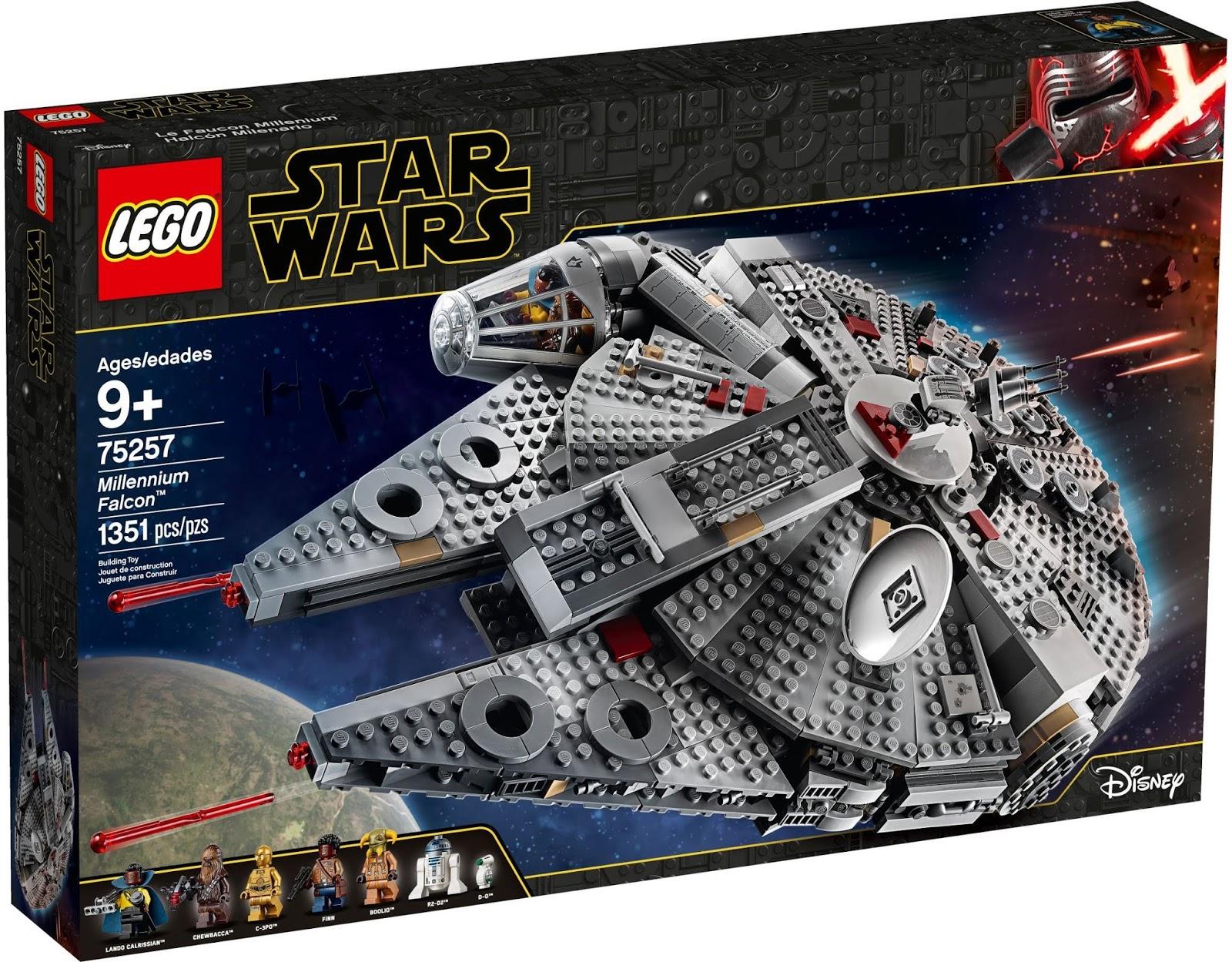 LEGO 75257 ミレニアム・ファルコン