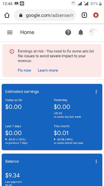 Earnings at risk