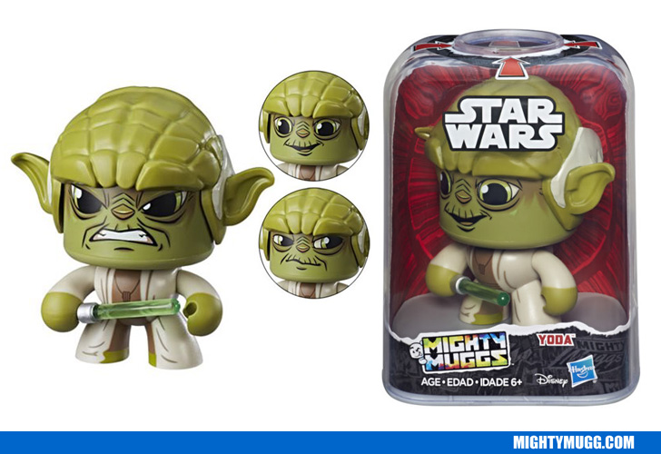 Yoda Star Wars Mighty Muggs Wave 2 2018