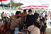 Rumah Milenial Indonesia Ikut Gencarkan Vaksinasi Merdeka di USU