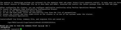 Configure two node VCS Cluster - Screenshot 16