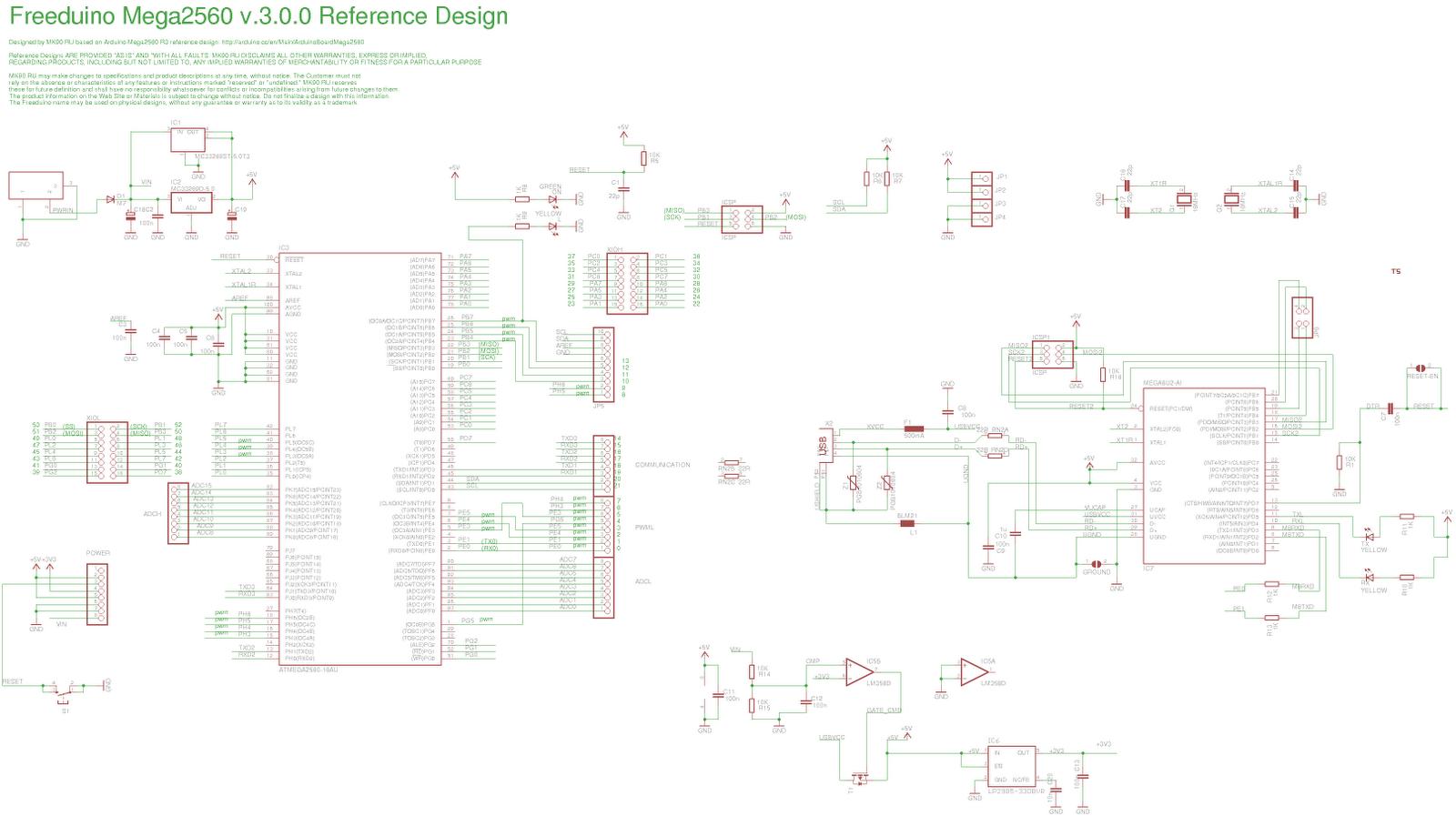 Arduino Mk 90 Freeduino Mega 3 0 0