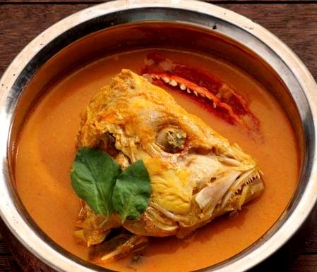 Resep Gulai Kepala Ikan Kakap Merah ala Masakan Padang