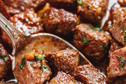 How to Make Garlic Butter Steak Bites