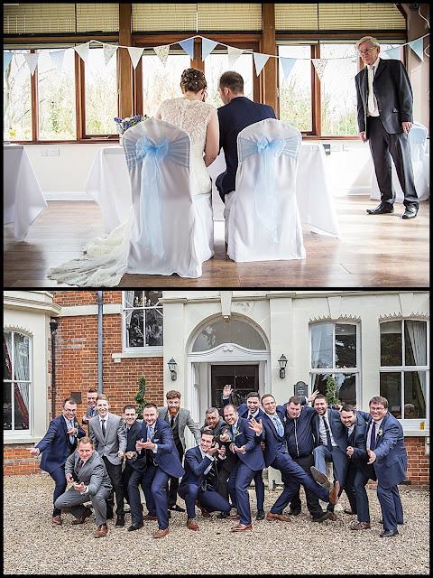 cool wedding group image