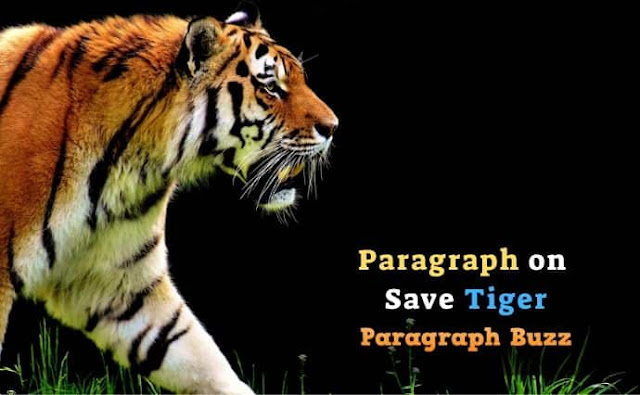 Paragraph on Save Tiger
