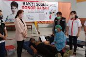 Ditengah Pandemi Covid19, PMI Minsel Tetap Menggelar  Donor Darah