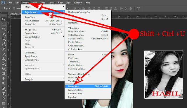 Cara Membuat Foto Sketsa Wajah dengan Photoshop