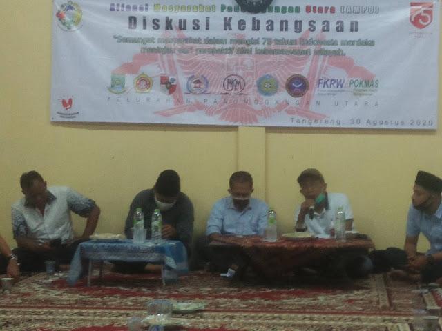 Gelar diskusi kenegaraan bersama ketua dprd dan tokoh masyarakat,  korantangsel.com