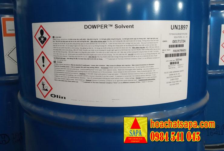 Dowper Solvent - giặt khô công nghiệp