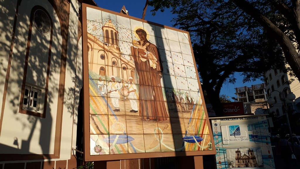 Igreja de São Benedito em Aparecida do Norte
