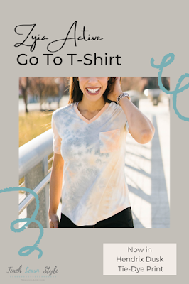 zyia active review, zyia active sizing, zyia active t shirts, zyia active go to t shirt, zyia active tie dye
