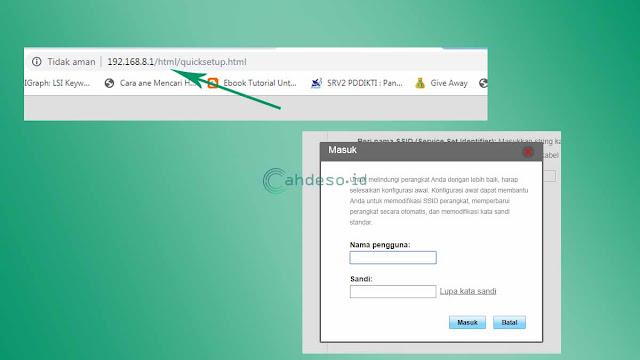 Cara mengganti password MiFi Huawei Tanpa Aplikasi