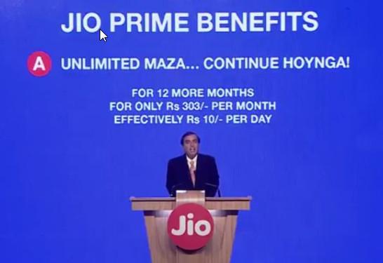 Jio Prime Plan