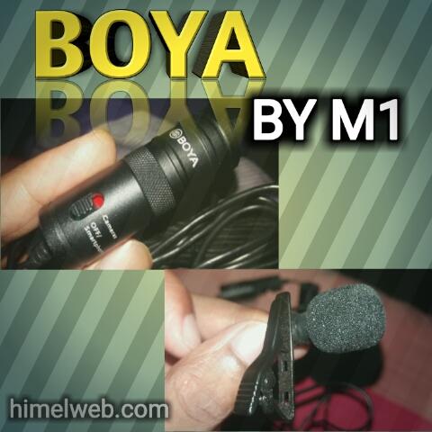 নতুন ইউটিউবারদের জন্য Boya M1 একটি বেস্ট মাইক্রোফোন | himelweb