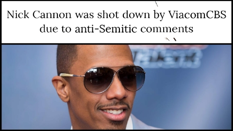 Nick Cannon was shot down by ViacomCBS due to anti-Semitic comments