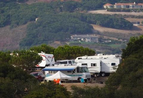 Camping at Laguna Seca