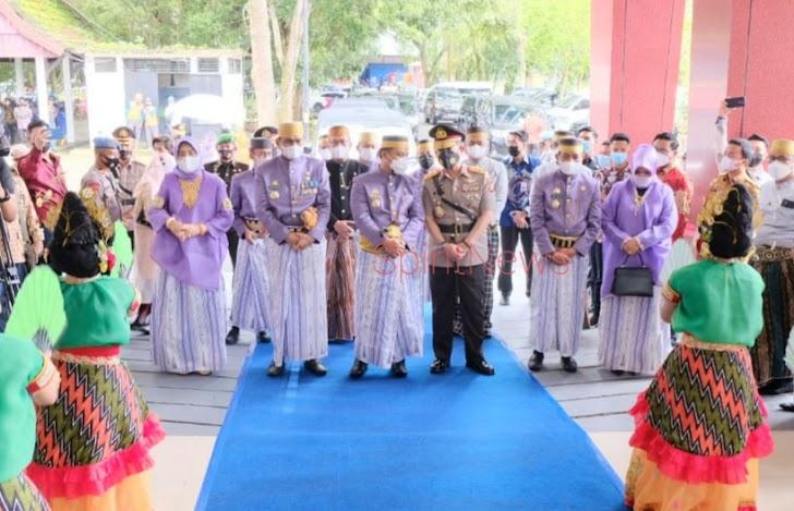 Kapolda Sulsel Hadiri Peringatan Hari Jadi Kabupaten Barru Ke-61
