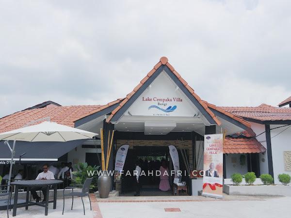 Pakej Perkahwinan Bertema 'Garden' di Bangi : Lake Cempaka Villa Jadi Rebutan Untuk Majlis Istimewa!