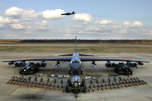 Amerika Serikat membawa kekuatan Bombernya ke Eropa