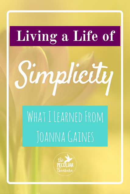 Living a life of simplicity is possible, but first we need to know what that means for our own lives. This is what I've learned about simplicity from Joanna Gaines.
