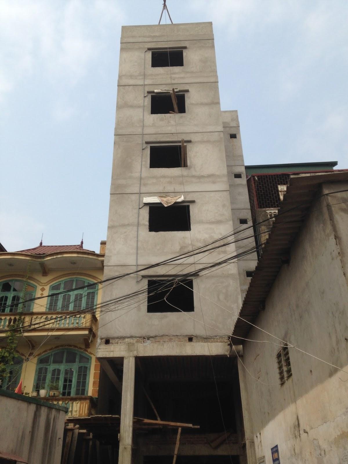 Tòa chung cư mini Minh Đại Lộc 2 đang đi vào hoàn thiện bên trong