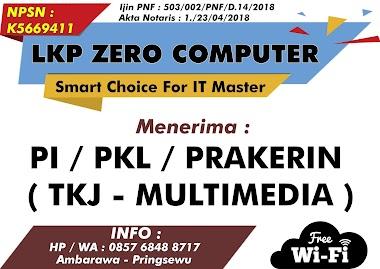 PKL / PI DI PRINGSEWU   LKP ZERO COMPUTER