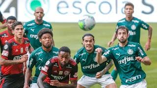 Quarteto lidera garotada e Flamengo empata com o Palmeiras