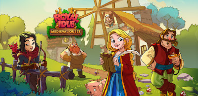 ROYAL IDLE MEDIEVAL QUEST (MOD, FREE UPGRADES) APK DOWNLOAD