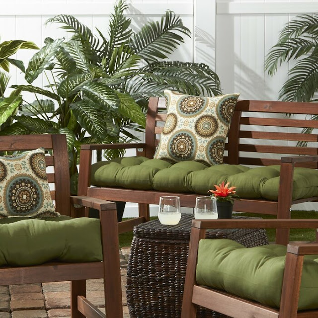 Outdoor and Indoor patio chair cushions