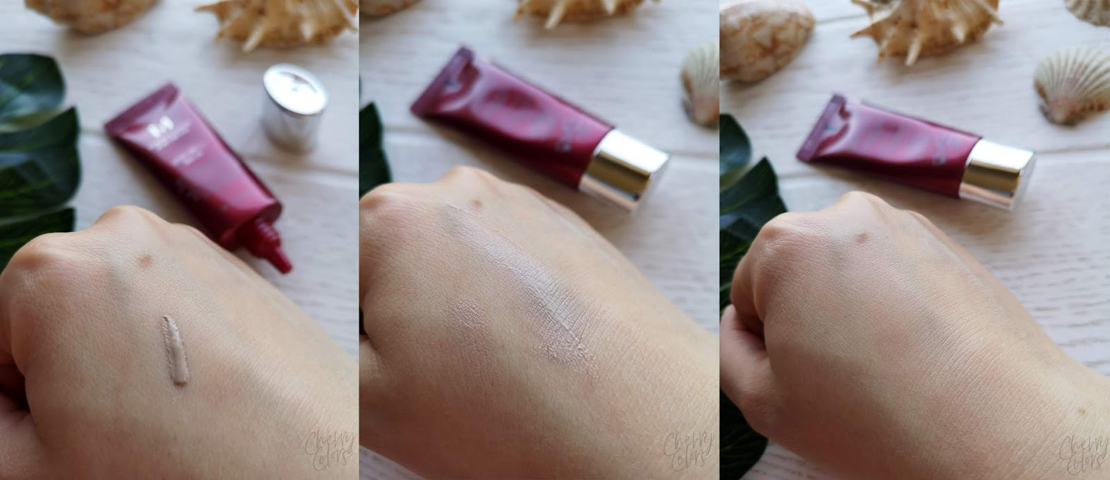 Missha Perfect Cover BB Cream Swatch