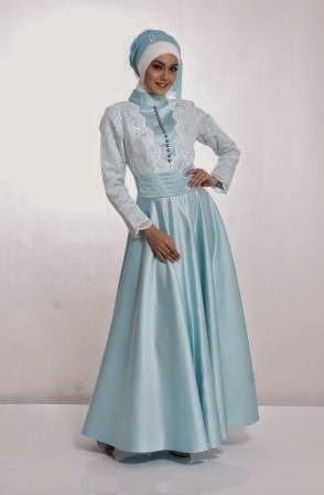 Contoh Model Baju Muslim Untuk Pesta Terbaru