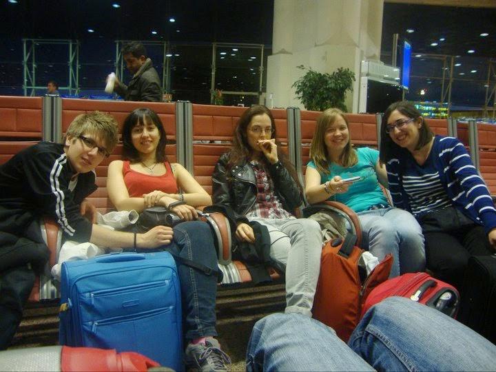 Dormir en el aeropuerto