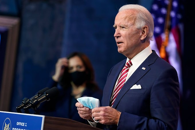 """""""More people may die if Trump continues to block transition"""" - Joe Biden"""