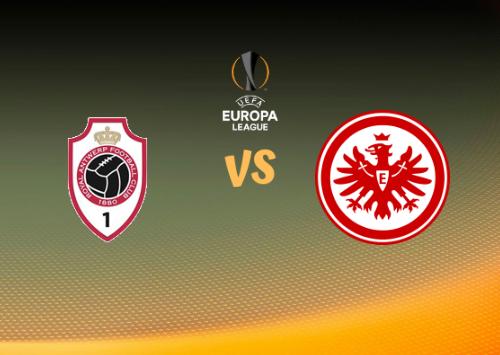 Antwerp vs Eintracht Frankfurt  Resumen