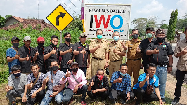 Jajaran PD-IWO Tubaba Terima Kunjungan Silaturahmi Pj.Sekdakab Setempat