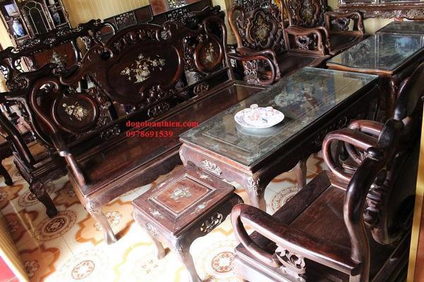 Địa chỉ bán bàn ghế trắc chính hãng chất lượng