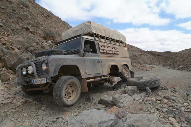 sahariens Foley Specialist Vehicles Land Rover 6x6